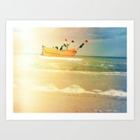 Sea Side Art Print