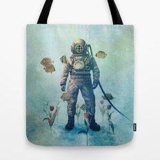 Deep Sea Garden  Tote Bag