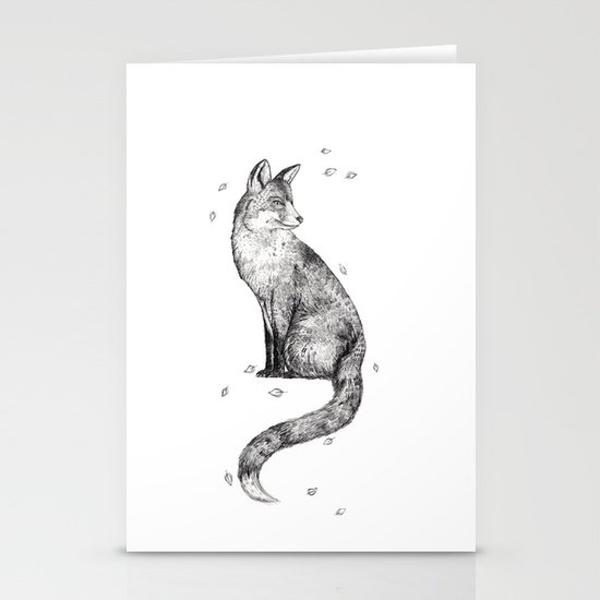Foa // Graphite Stationery Card