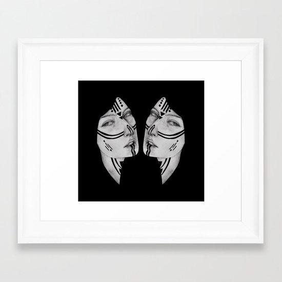 Sisters IV Framed Art Print