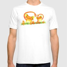 We Heart SMALL Mens Fitted Tee White