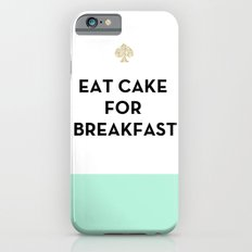 Eat Cake for Breakfast - Kate Spade Inspired iPhone 6 Slim Case
