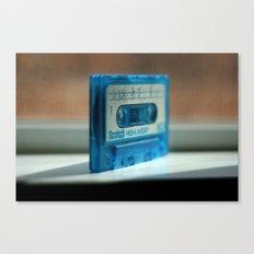 Blue Tape Canvas Print