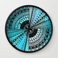 eye in the sky Wall Clock