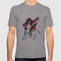 Mystique Mens Fitted Tee Athletic Grey SMALL