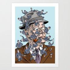 Parthenogenesis Superbureaucrat Art Print