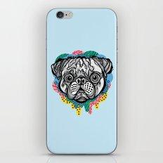 Pug Face iPhone & iPod Skin