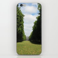 Parting Paths iPhone & iPod Skin