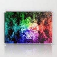 Inner Battle ~ Analog Zine Laptop & iPad Skin