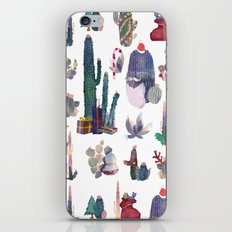 CACTUS CHRISTMAS!!!  iPhone & iPod Skin