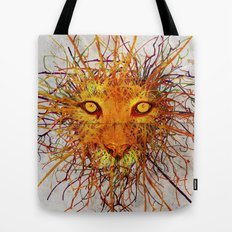 Lion Drip Tote Bag