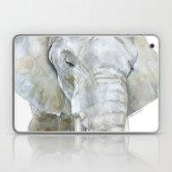 Elephant Watercolor Pain… Laptop & iPad Skin