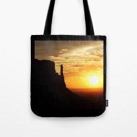 Sunrise Over Monument Va… Tote Bag