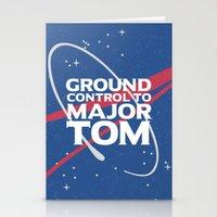 Ground Control to Major Tom Stationery Cards
