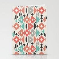 Caleido Triangle Stationery Cards