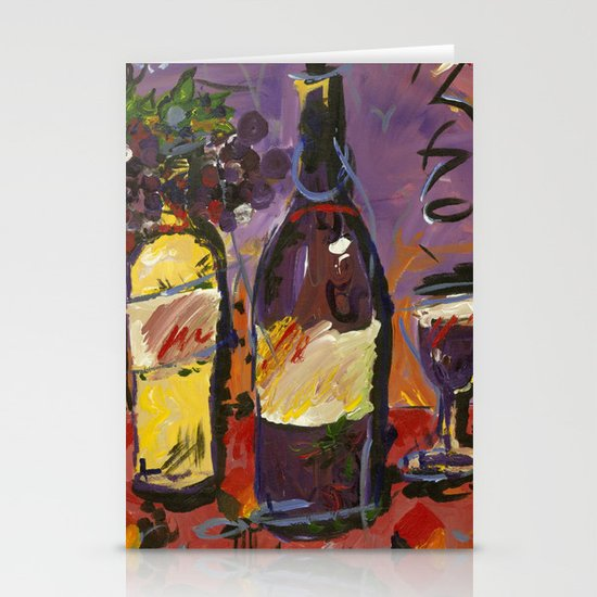 Wine Party  Stationery Card