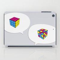 Rubik InQuadri iPad Case