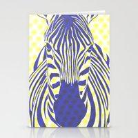BLUE ZEBRA Stationery Cards
