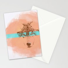 The Blue Eyed Wolf Stationery Cards