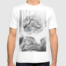 Chi Mens Fitted Tee White SMALL