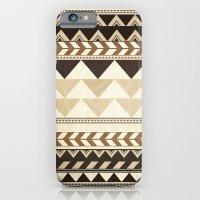 Woodwork Pattern iPhone 6 Slim Case