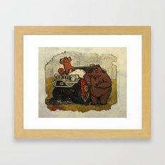 The Hunters Framed Art Print