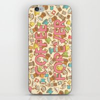 Coffee Forever iPhone & iPod Skin
