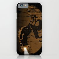 iPhone & iPod Case featuring oil monster by ErDavid