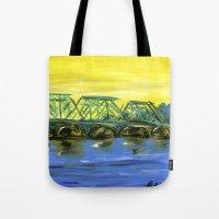 New Hope-Lambertville Br… Tote Bag