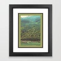 Port Angeles, WA Framed Art Print