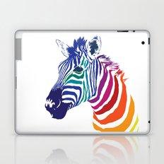 Rainbow Zebra Laptop & iPad Skin