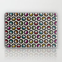 Dancing vinyls Laptop & iPad Skin