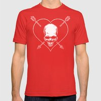 Eros & Thanatos (Joli Rouge Red Flag) Mens Fitted Tee Red SMALL