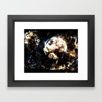 nightmare before christmas Framed Art Print