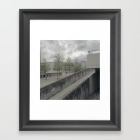 BMX Framed Art Print