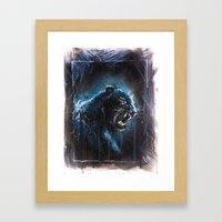 Black Panther Framed Art Print