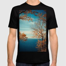 The View From the Top SMALL Black Mens Fitted Tee
