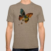 Fractal Cacoon Mens Fitted Tee Tri-Coffee SMALL
