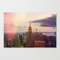 Skyline NYC Canvas Print