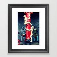 After Death (Hell) Framed Art Print