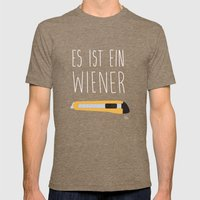 The Wiener Schnitzel Fai… Mens Fitted Tee Tri-Coffee SMALL