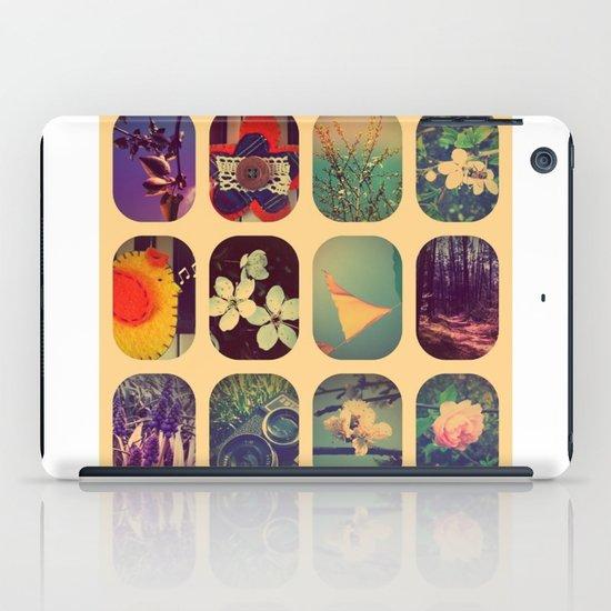 Spring collage iPad Case