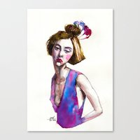 Fashion I  Canvas Print