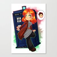 Doctor Donna  Canvas Print