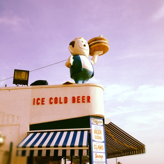 Ice Cold Beer, Coney Island Art Print