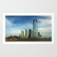 New Jersey Art Print