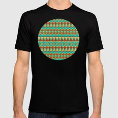 Tribal Soul Mens Fitted Tee Black SMALL