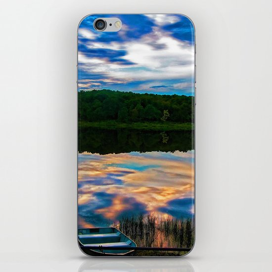 Evening Reflection iPhone & iPod Skin