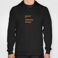 pencil + software = design Hoody