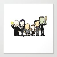 They're Creepy And They'… Canvas Print